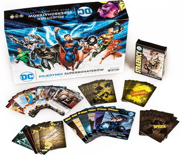 Pojedynek superbohaterów DC: Gra karciana w uniwersum DC Comics
