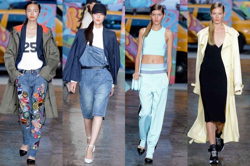 Pokaz DKNY podczas tygodnia mody w Nowym Jorku /Getty Images
