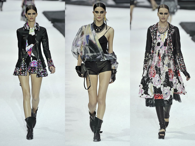 Pokaz domu mody Chanel  /East News/ Zeppelin