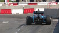Pokaz Formuły 1 w wykonaniu Roberta Kubicy