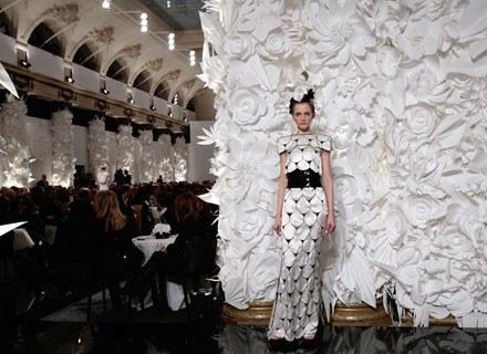 Pokaz Karla Lagerfelda dla Chanel /AFP