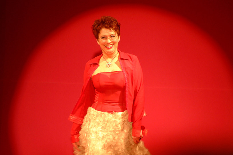 "Pokaz mody ""Kobiety kobietom"": Aleksandra Jakubowska, 2002 r. /AKPA"