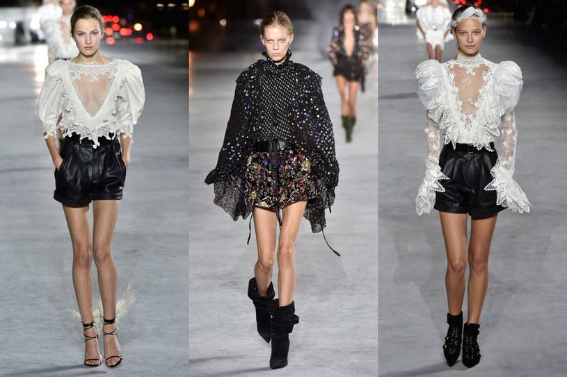 Pokaz mody Saint Laurenta /Getty Images