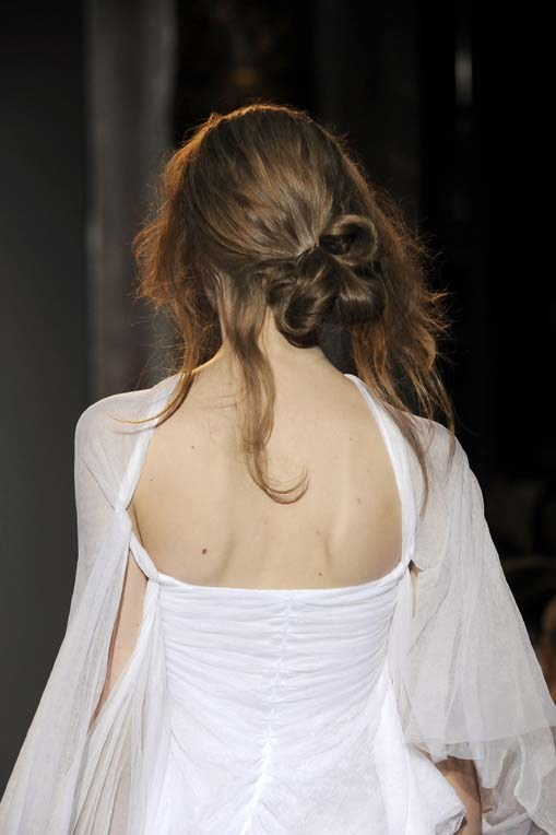 Pokaz mody Sophi Kokosalaki wiosna-lato 2010 w Paryżu  /East News/ Zeppelin