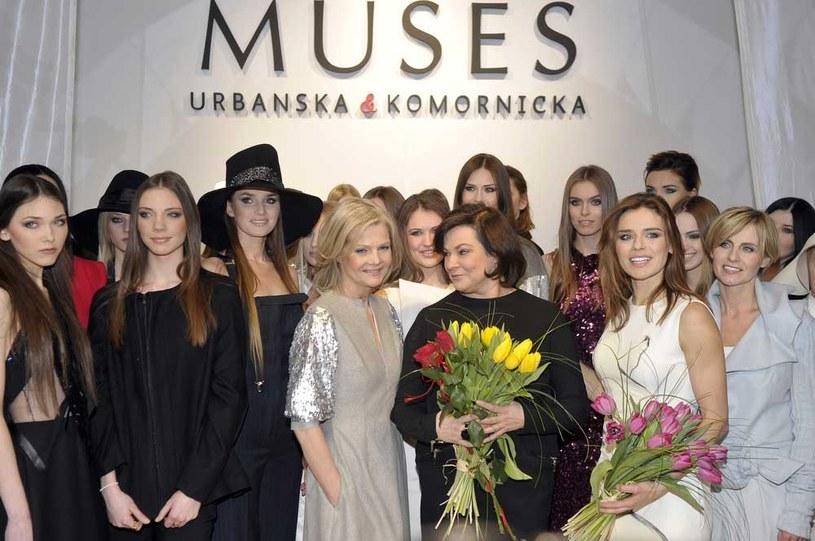Pokaz pierwszej kolekcji ubrań dla kobiet autorstwa Nataszy /Kurnikowski /AKPA