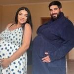 Pokazała mężowi, jak to jest być w ciąży. Przezabawne!