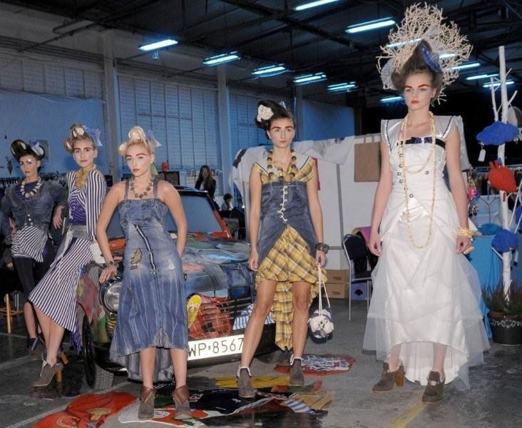 Pokazy mody są częścią Bilioneurobab