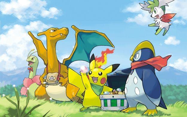 Pokemon - motyw graficzny /Informacja prasowa