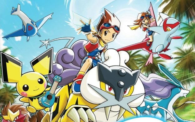 Pokemon Ranger: Guardian Signs - motyw graficzny /Informacja prasowa