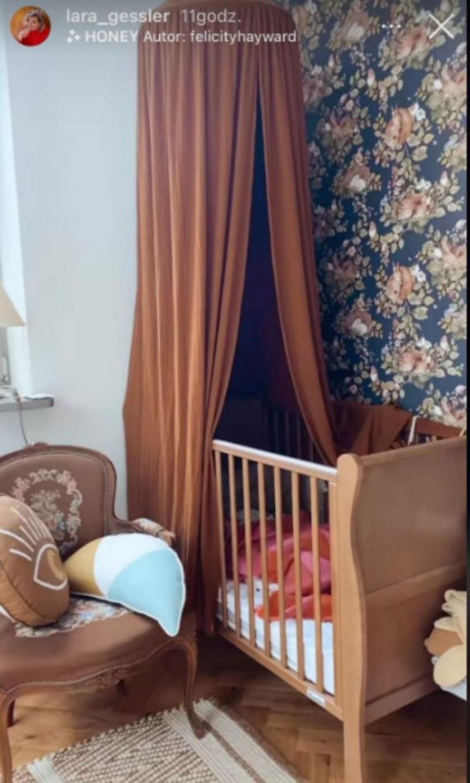 pokój córki Lary Gessler, fot. https://www.instagram.com/lara_gessler/ /Instagram