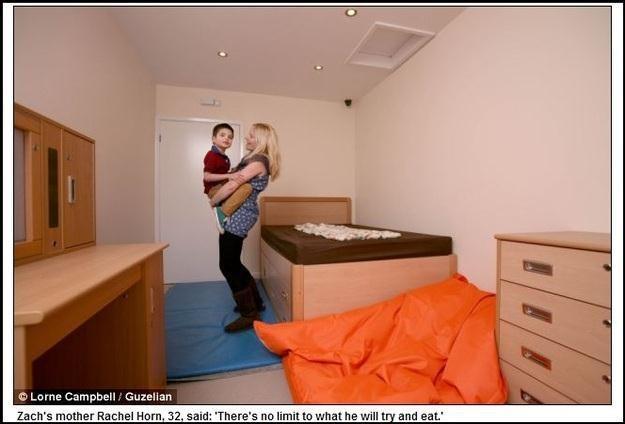 Pokój małego Zacha - zdjęcie opublikował portal DailyMail /