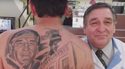 Pokonał raka i zaskoczył tatuażem swojego lekarza