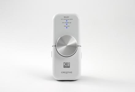 Pokrętło Xmoda przypomina rozwiązanie z innych zewnętrznych kart dźwiękowych Xmoda /materiały prasowe
