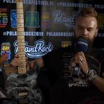 Pol'and'Rock Festival 2019: Szymon Chwalisz i specjalna gitara w akcji