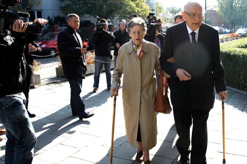 Pół wieku spędziła u boku Władysława Bartoszewskiego. Troszczyła się o niego w stanie wojennym, towarzyszyła mu, gdy został dyplomatą/ fot. Adam Guz /East News