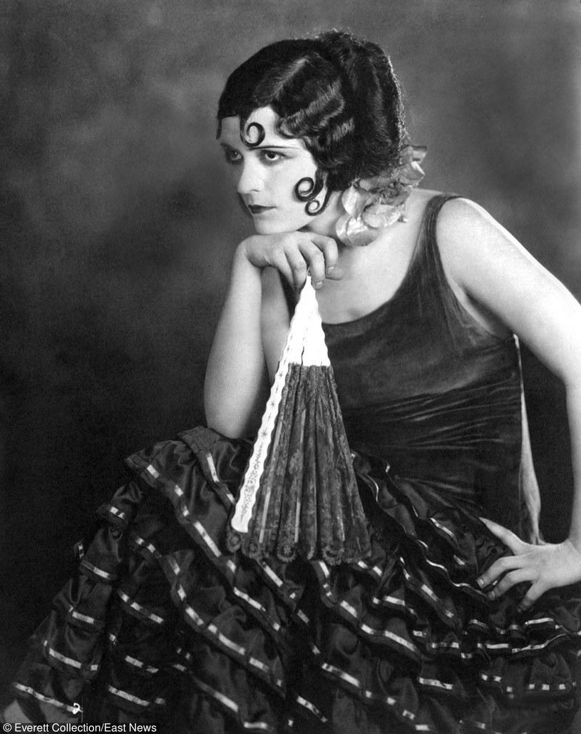 Pola Negri w 1924 roku, fot. Everett Collection /East News