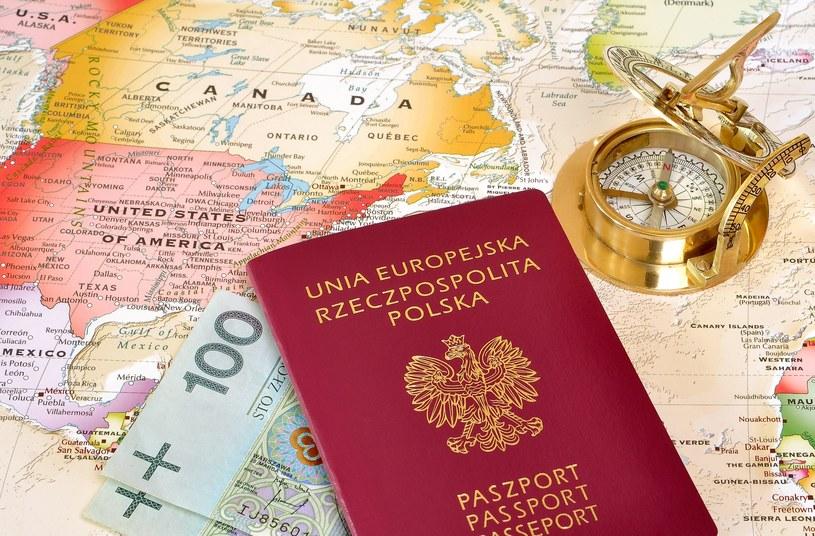 Polacy bez wizy mogą podróżować do 182 państw. /123RF/PICSEL