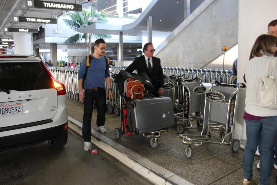 Polacy docierają do Los Angeles /Paweł Żuchowski /RMF FM