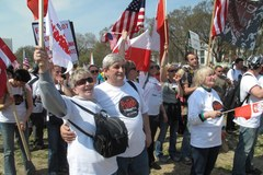 Polacy domagają się legalizacji swojego pobytu w USA