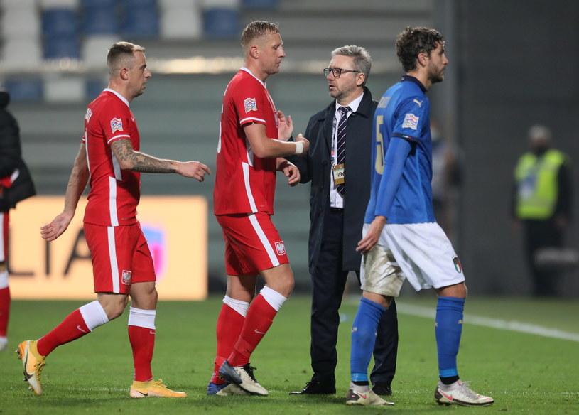 Polacy dostali bolesną lekcję futbolu od Włochów / Leszek Szymański    /PAP