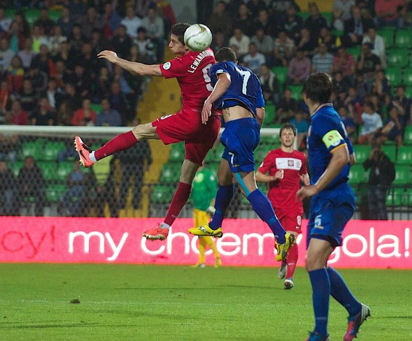 Polacy grali z Mołdawią w eliminacjach MŚ 2014 /AFP