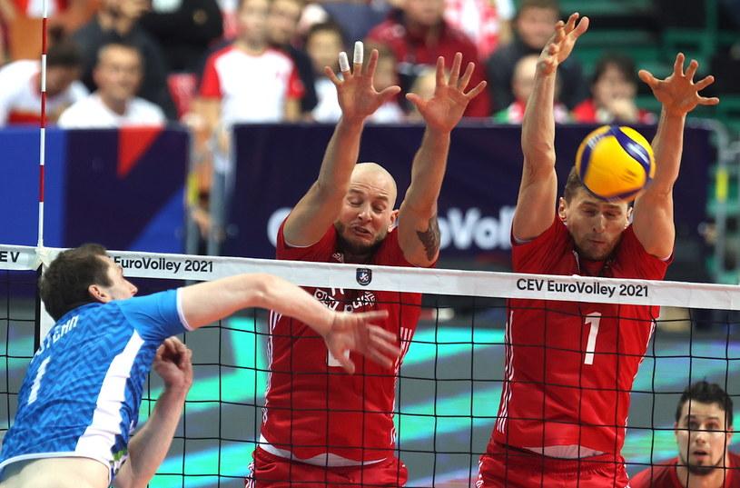 Polacy i Słoweńcy po raz drugi z rzędu spotkali się w półfinale ME /PAP/Andrzej Grygiel    /PAP