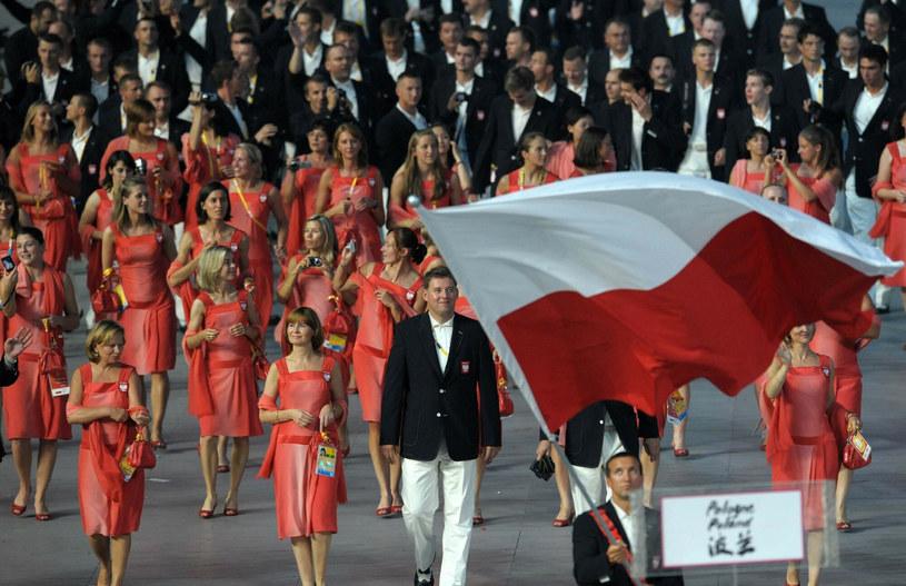 Polacy na igrzyskach olimpijskich w roku 2008 /Xinhua/Photoshot/REPORTER /East News
