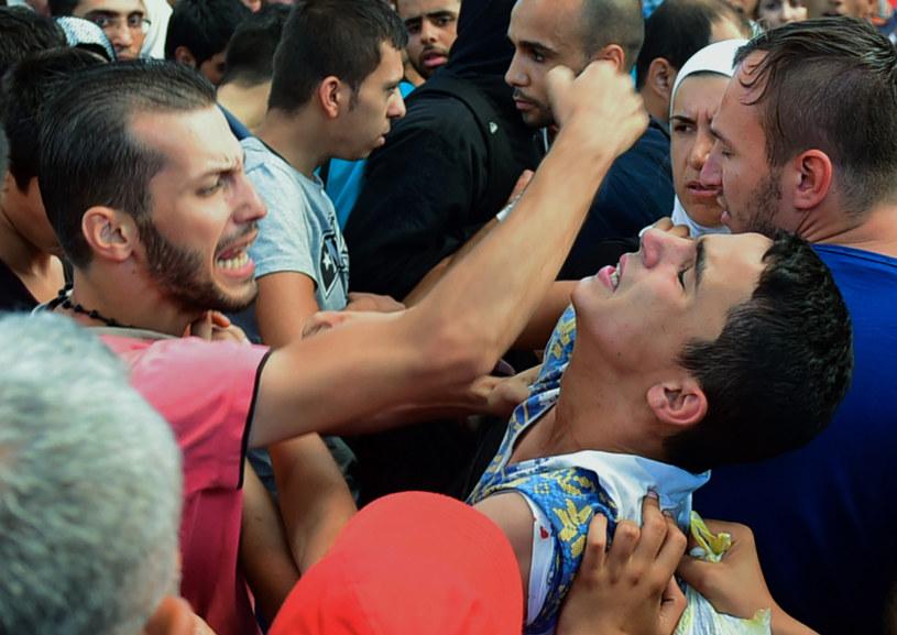 Polacy nie chcą przyjmować uchodźców /AFP