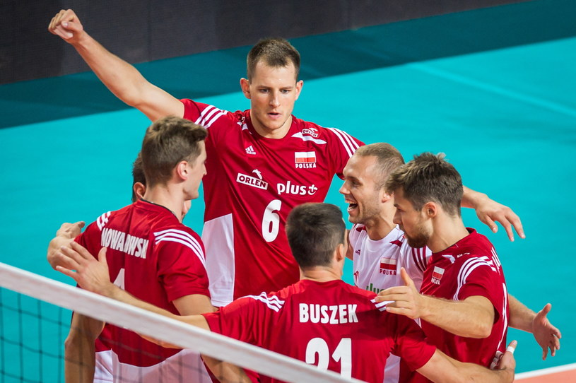 Polacy odnieśli drugie zwycięstwo w tegorocznym Memoriale Huberta Wagnera /Fot. Tytus Żmijewski /PAP