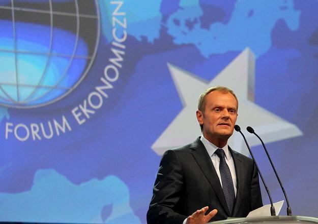 Polacy odparli kryzys - powiedział w Krynicy premier Donald Tusk /PAP