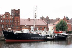 Polacy odremontowali brytyjski statek. Od ruiny do muzeum