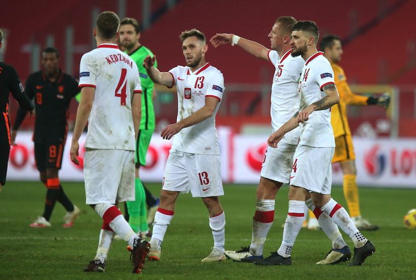 Polacy po meczu z Holandią /Andrzej  Grygiel /PAP