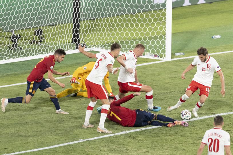 Polacy po trzech meczach zakończyli niestety występy na Euro 2020 /Andrzej Iwanczuk /Reporter /East News