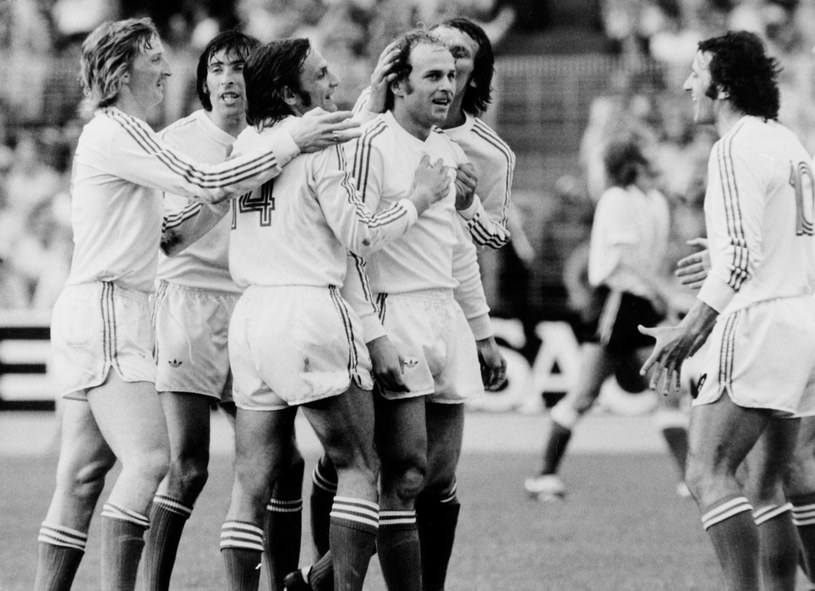 Polacy podczas meczu z Argentyna na MŚ 1974 /Getty Images