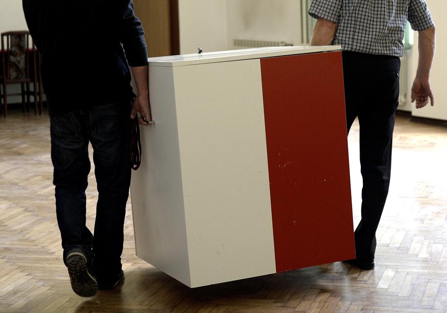 Polacy pójdą na eurowybory 26 maja /Darek Delmanowicz /PAP