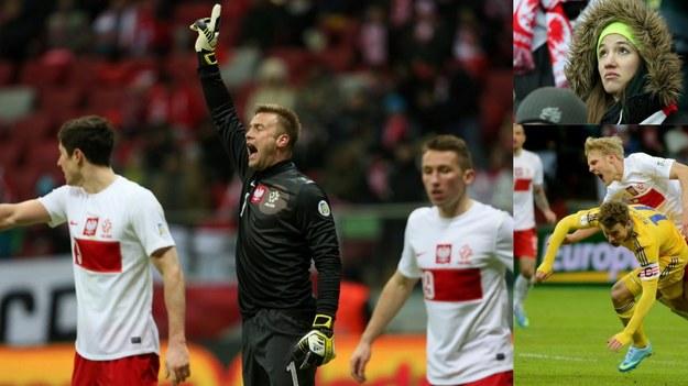 Polacy przegrali na Stadionie Narodowym z Ukrainą 1:3 /Leszek Szymański/Bartłomiej Zborowski /PAP/EPA