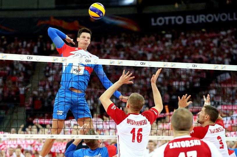 Polacy przegrali z Serbami / fot. Cyfrasport /