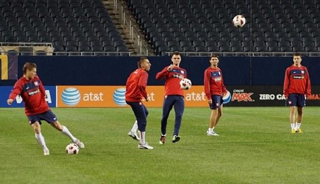 Polacy trenują przed meczem z USA/fot. FaktyChicago.com /Informacja prasowa