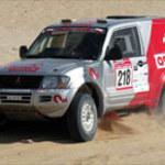 "Polacy w ""Desert Challenge 2002"""