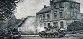 Polskie czołgi na ulicach Berlina, 1945
