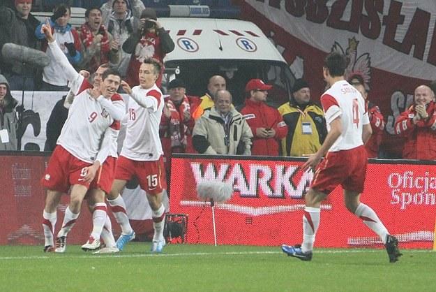 Polacy wreszcie wygrali mecz na szczeblu międzynarodowym/fot. Andrzej Grupa /INTERIA.PL