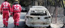 Polacy wśród ofiar śmiertelnych pożarów w Grecji. To matka z synem