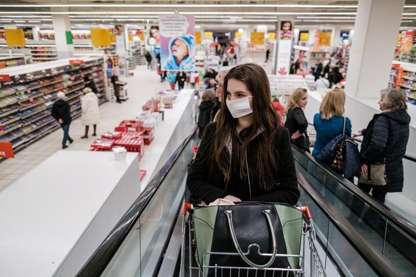 Polacy wykupują m.in. środki czystości /JAKUB WOSIK/REPORTER /Reporter