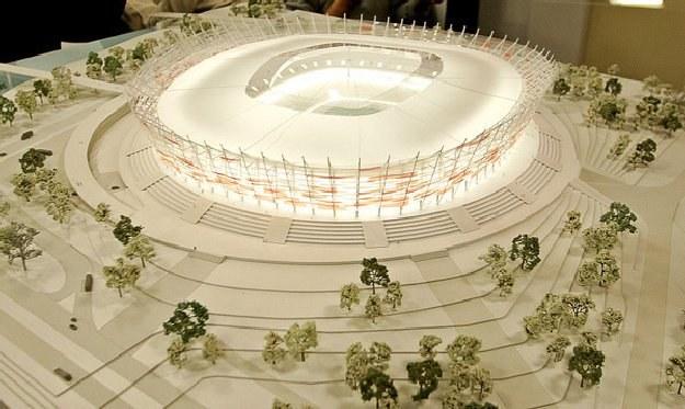 Polacy zagrają mecz otwarcia na Stadionie Narodowym w Warszawie /AFP