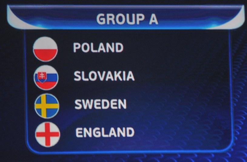 Polacy zagrają w grupie A ze Słowacją, Szwecją i Anglią /Michał Klag /East News