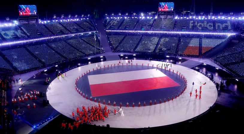 Polacy zaprezentowali się godnie podczas ceremonii otwarcia. Teraz poraz na powtórkę na arenach olimpijskich! /PAP/EPA