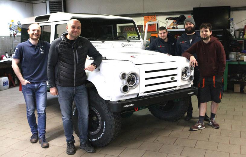 Polacy zbudowali elektryczne auto terenowe / Źródło: WysokieNapiecie.pl /&nbsp