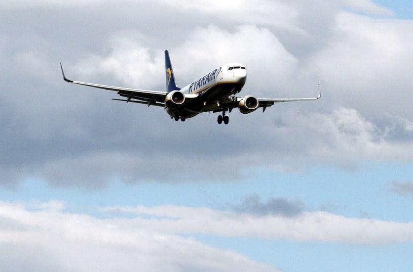 Polacy zostali wyprowadzeni z samolotu przez policję /Artur Barbarowski /East News
