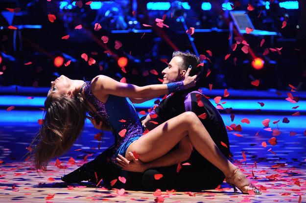 Połączył ich taniec! /Andras Szilagyi /MWMedia