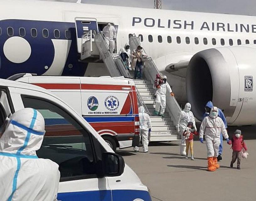 Polak i jego rodzina ewakuowani z Indii /Szef KPRM Michał Dworczyk /Twitter